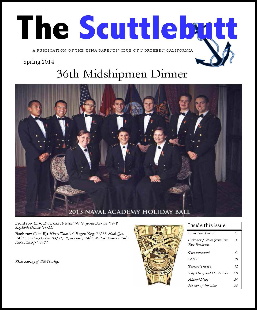 Cover page Scuttlebutt Spring 2014 Web 140416 1